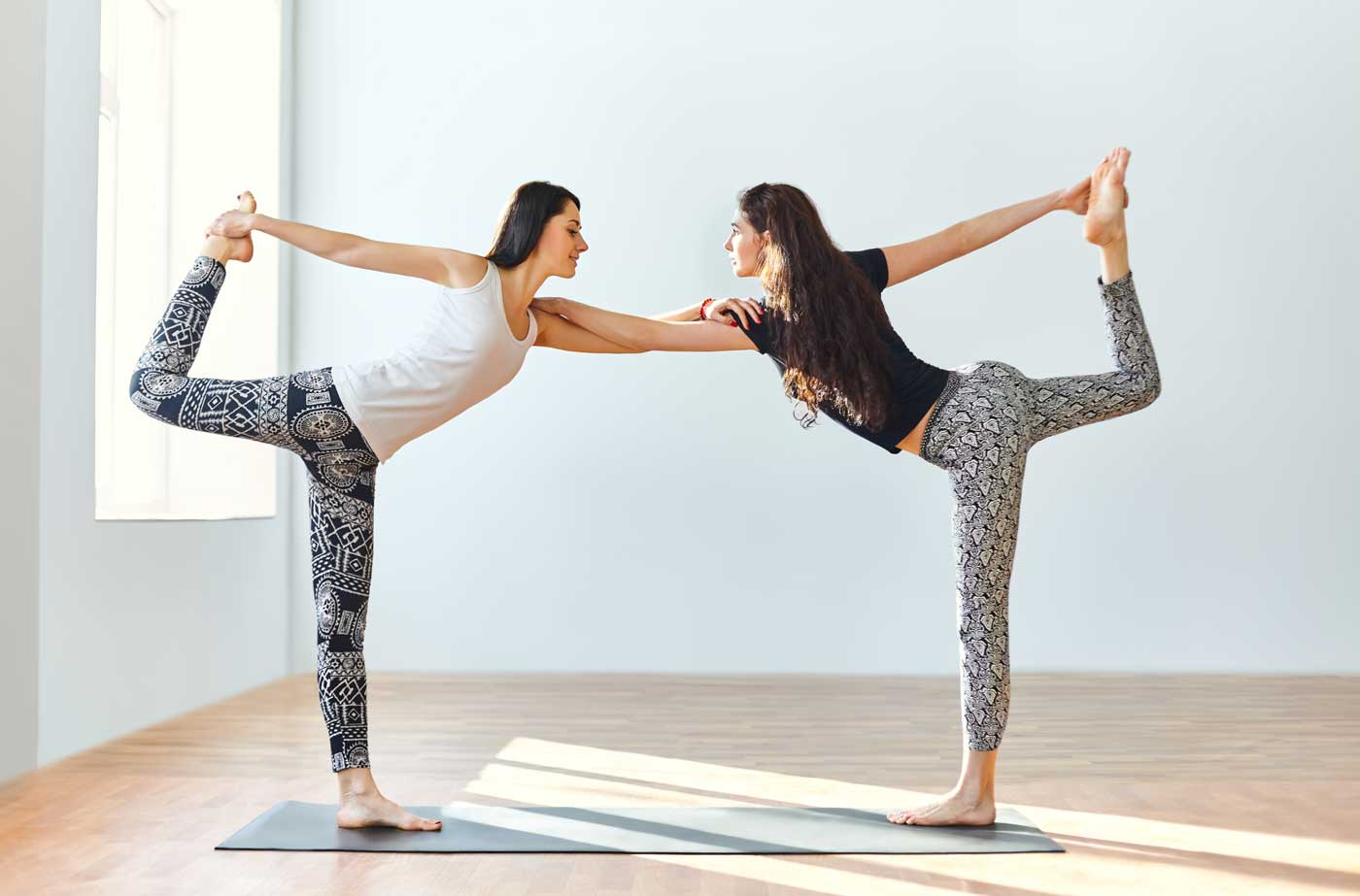 Partner Up For Yoga Pair Poses! - Yogamoo™